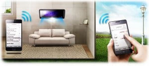 Functii WiFi Samsung Jungfrau-F AR12KABE Inverter