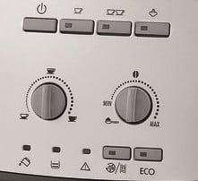 Panou de control espressor