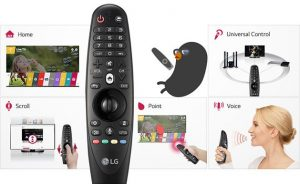 LG 43UF6907 magic remote