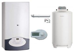 centrala termica cu boiler