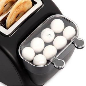 prajitor cu fierbator de oua