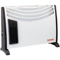 Convector electric Zass ZKH 02T, Turbo, 2000W