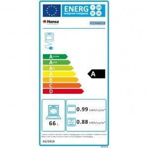 Consum energie aragaz Hansa FCCX68219 1