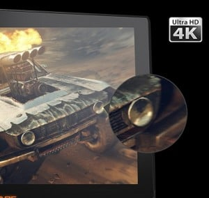 Ecran 4K ultra HD laptop gaming