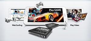 Procesor Quad Core Samsung Galaxy Tab 3