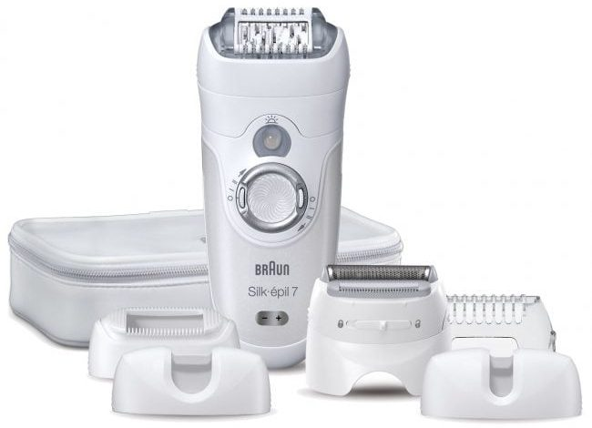 Photo of Review epilator cu cap pivotant Braun SE 7681 Wet & Dry