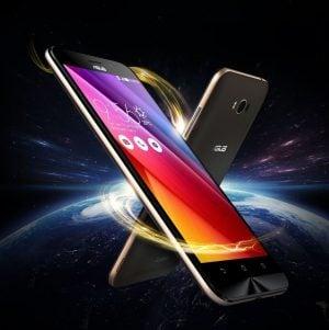 Asus Zenfone Max design energetic