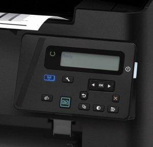 Panoul de control HP Laserjet Pro M125nw MFP