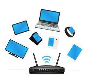Conexiuni adaptor wireless