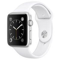 Apple Watch cu carcasa din aluminiu silver