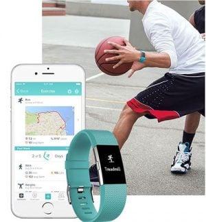 Bratara fitness monitorizare sporturi