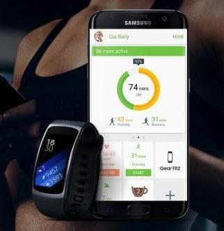 Bratara fitness si conexiune smartphone