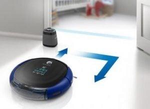 Perete virtual aspirator robot Samsung