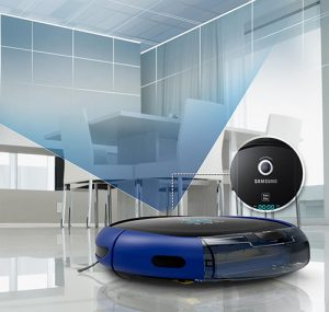 Samsung visionary mapping aspirator robot