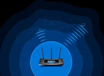 Standard Wi-Fi router wireless
