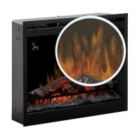 Focar semineu electric incorporabil 3D Dimplex Optiflame DF2624L-EU