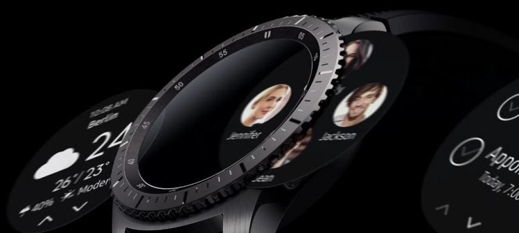Galaxy Gear S3 operare facila