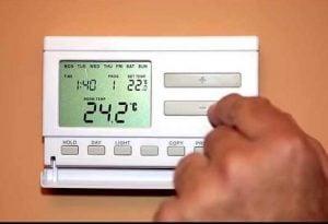 Programare zile si ore termostat wireless