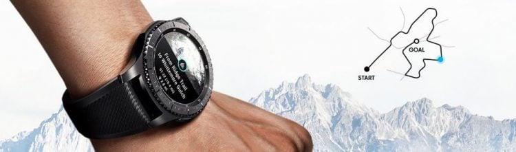 Samsung Gear S3 GPS incorporat