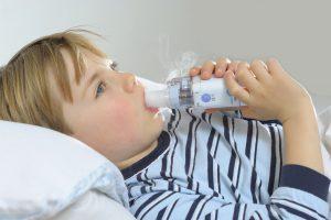 Aparat aerosoli nebulizator pentru copii