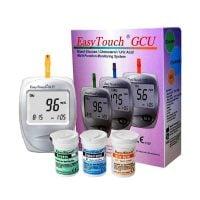 EasyTouch GCU - Analizor glicemie, colesterol, acid uric
