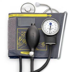 Tensiometru mecanic cu manseta si stetoscop