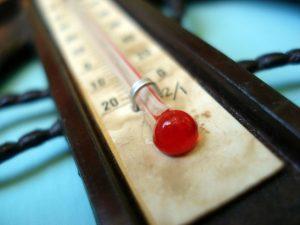 Termometru de camera analog