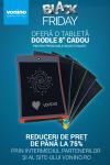 """Black Friday 2017 la Vonino: o tabletă Doodle 8"""" CADOU și reduceri de preț de până la 75%"""