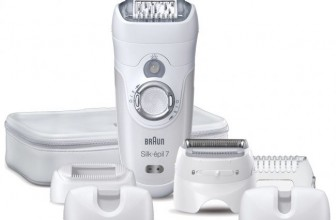 Review epilator cu cap pivotant Braun SE 7681 Wet & Dry